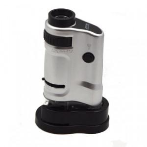 Dětský mikroskop 20-40x s LED světlem